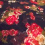 English Meadow Blue & Red Design