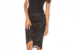 Ivy Skirt Black Front