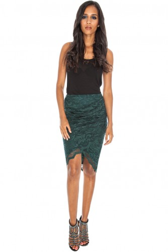 Ivy Skirt Green Front