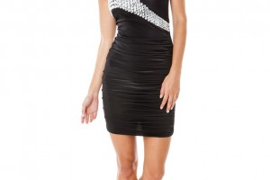 Millie Dress Black Front 2
