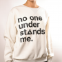 No one understands me hoody 2